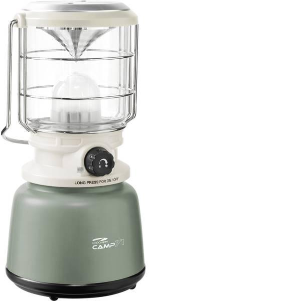 Lampade per campeggio, outdoor e per immersioni - LED Lanterna da campeggio LiteXpress Camp 71 1000 lm a batteria 1255 g Bianco-Verde LXL907078B -