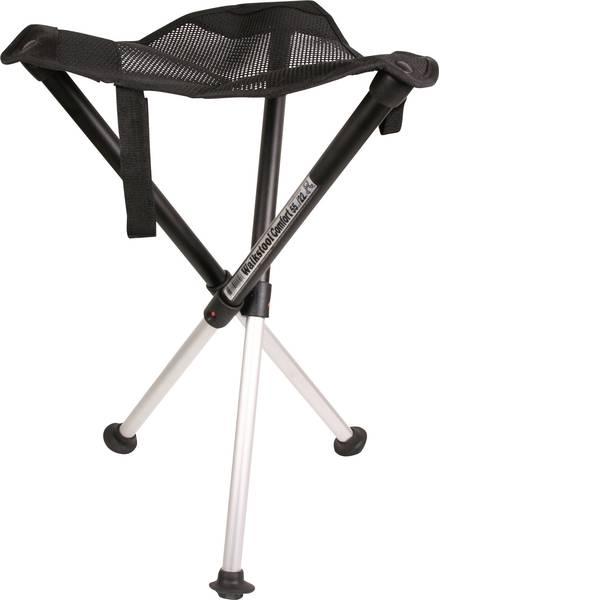 Mobili per campeggio - Sedia da campeggio Walkstool Comfort XL Nero / Argento 63547 -