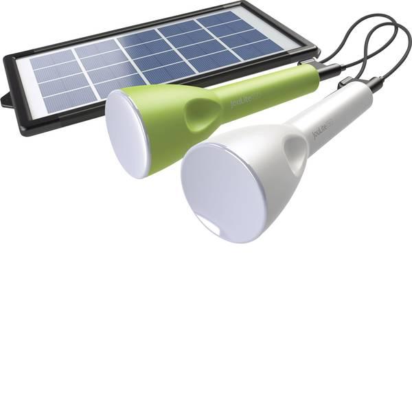Lampade per campeggio, outdoor e per immersioni - LED Luce da campeggio Sundaya JouLite 150 KIT2 150 lm a energia solare, a batteria ricaricabile, via USB 95 g Verde,  -