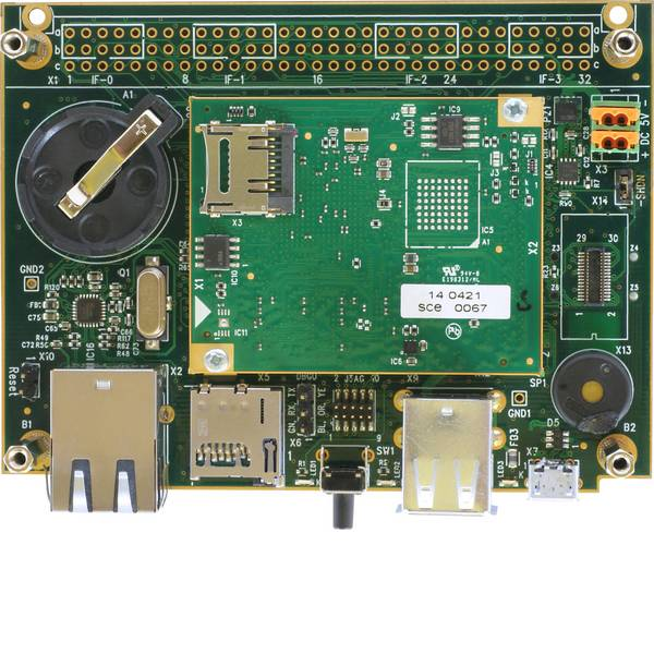 Kit e schede microcontroller MCU - Taskit Scheda di sviluppo PortuxA5D36 taskit Stamp Atmel SAMA5 -