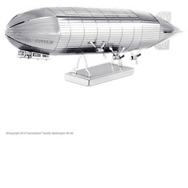 Kit di montaggio Metal Earth - Kit di metallo Metal Earth Graf Zeppelin -