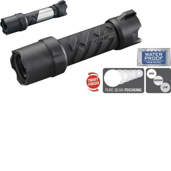Torce tascabili - LED Torcia tascabile Coast Polysteel 400 a batteria 182 g Nero, Grigio -