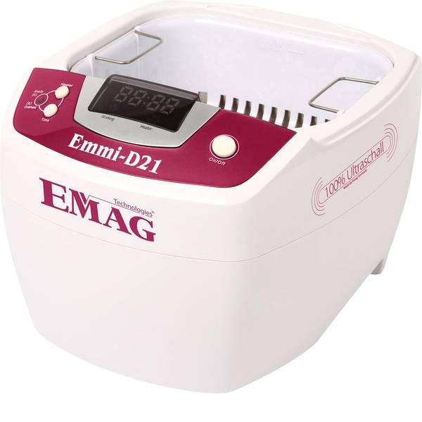 Lavatrici ad ultrasuoni - Emag Emmi D21 Lavatrice ad ultrasuoni 80 W 2 l con riscaldamento -