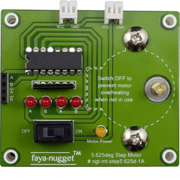 Moduli e schede Breakout per schede di sviluppo - Fayalab Nugget Faya Stepper Motor ATMega328 Adatto per (scheda): Arduino UNO, Arduino -