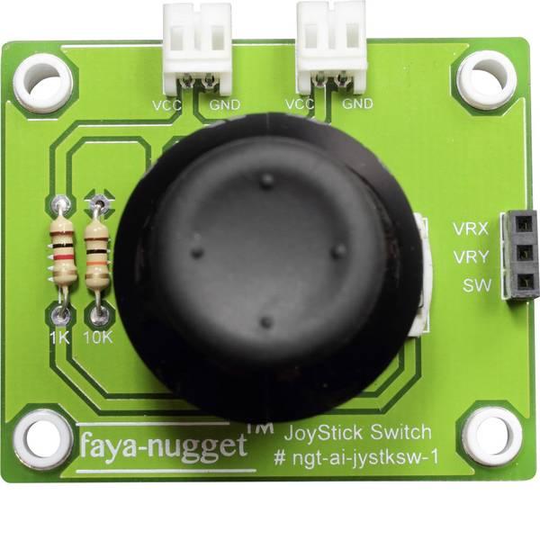 Moduli e schede Breakout per schede di sviluppo - Fayalab Nugget Faya Joystick Modul 801-NU0001 Adatto per (scheda): Arduino, Fayaduino -