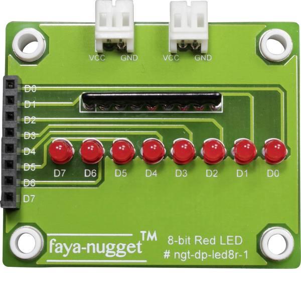 Moduli e schede Breakout per schede di sviluppo - Fayalab Nugget Faya LED-Modul 801-NU0004 Adatto per (scheda): Arduino, Fayaduino -