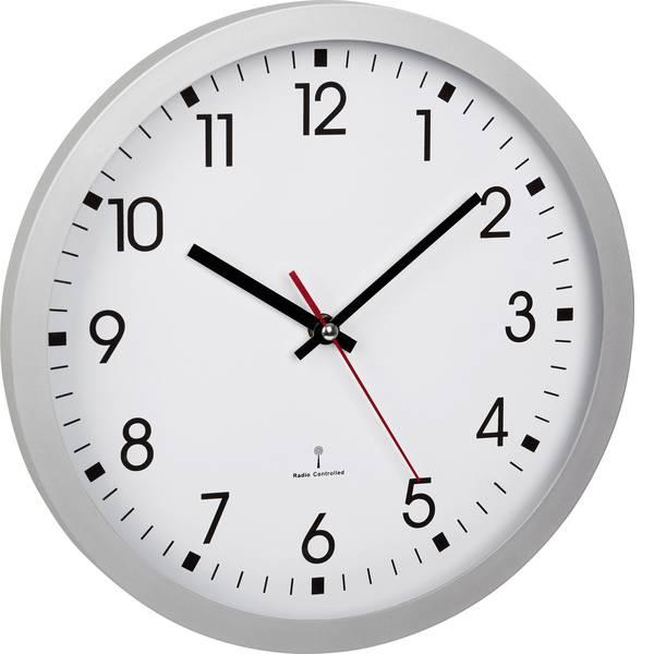 Orologi da parete - TFA 60.3522.02 Radiocontrollato Orologio da parete 30 cm x 4.3 cm Argento -
