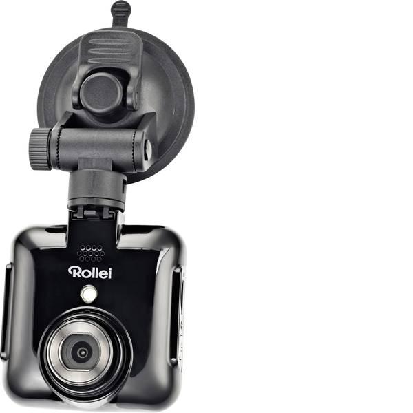 Dashcam - Rollei DVR-71 Dashcam Max. angolo di visuale orizzontale=120 ° 12 V Batteria ricaricabile, Display, Microfono -