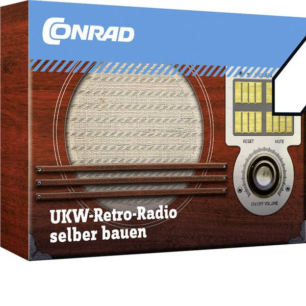 Kit esperimenti e pacchetti di apprendimento - Radio Retrò Conrad Components 10191 -