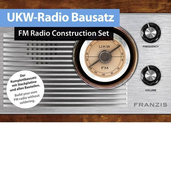 Kit esperimenti e pacchetti di apprendimento - Franzis Verlag 65287 UKW-Radio Radio Retrò da 14 anni -
