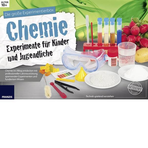 Kit di apprendimento chimica - Kit per esperimenti Franzis Verlag Chemie Experimente für Kinder und Jugendliche 65266 da 10 anni -