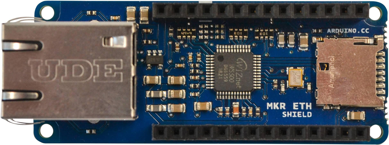 Shield Ethernet 2 Arduino MKR ETH Shield Adatto per (scheda): Arduino, Arduino UNO