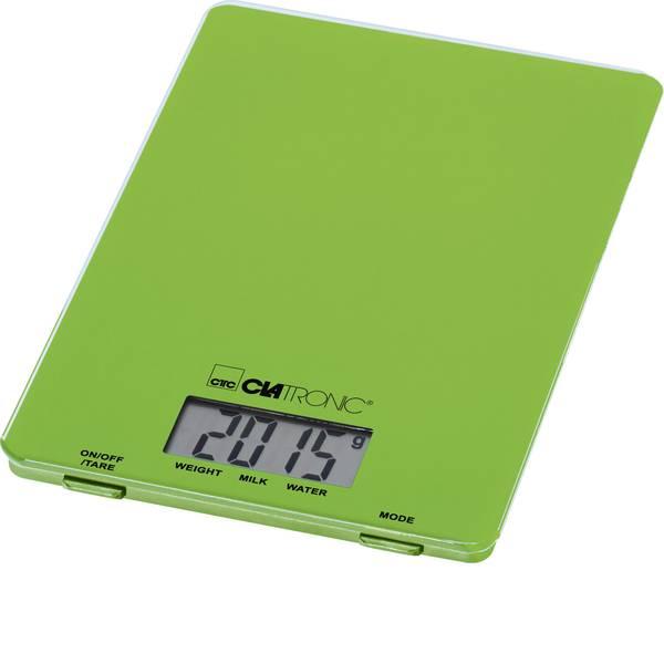 Bilance da cucina - Clatronic KW 3626 Bilancia da cucina digitale Portata max.=5 kg Verde -