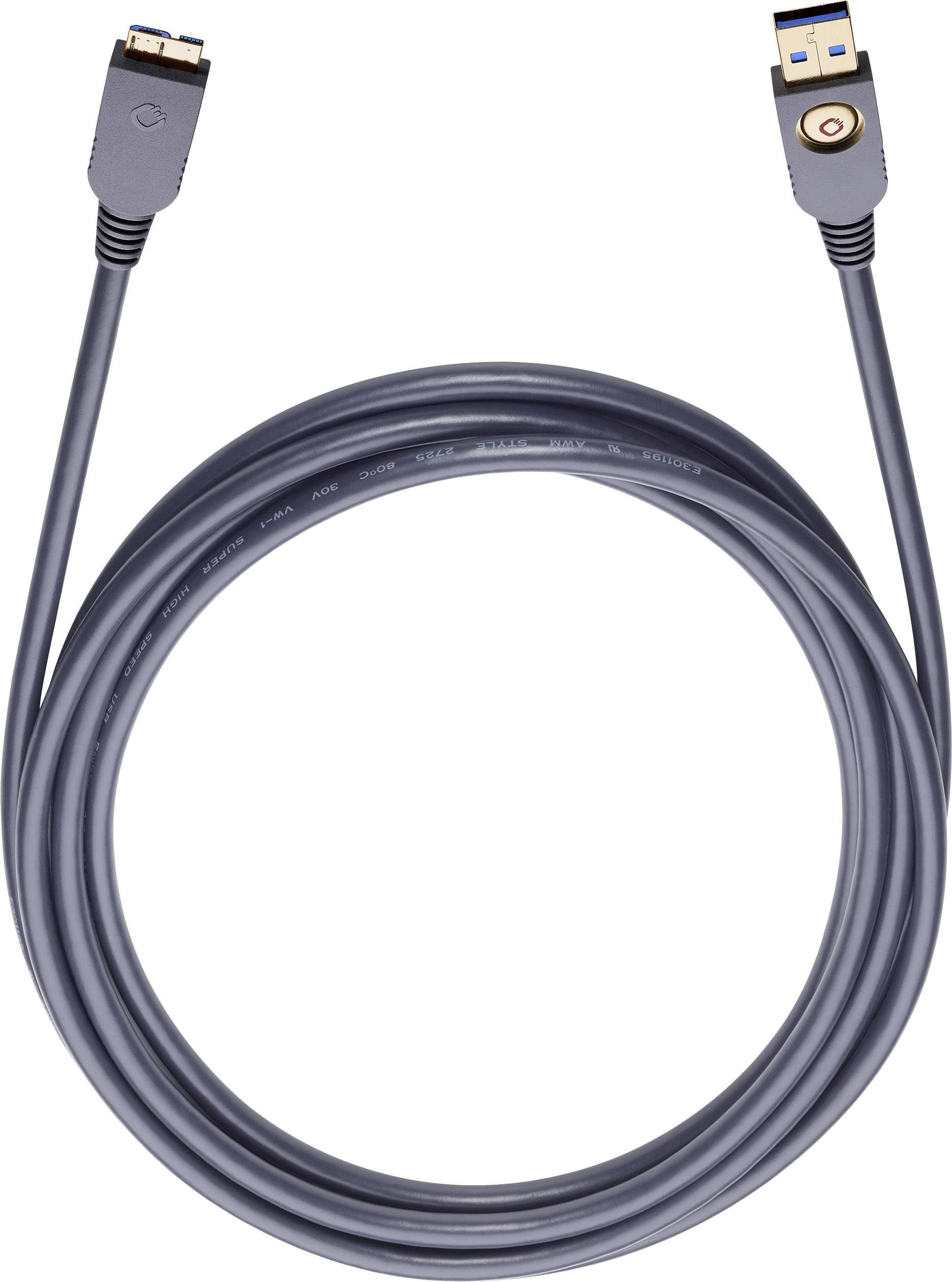 Oehlbach USB 3.0 Cavo di colle