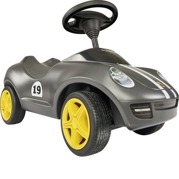 Auto a spinta - BIG Baby Porsche argento con strisce da corsa -