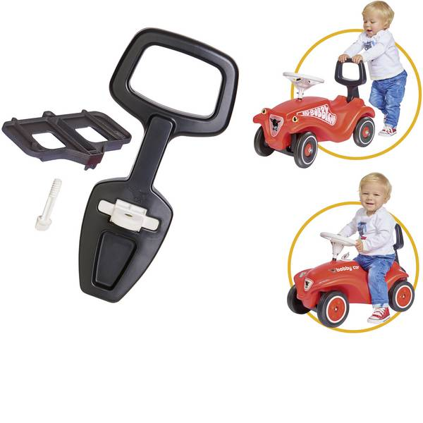 Auto a spinta - BIG Bobby-Car Walker a 2-in-1 aiuto apprendimento -