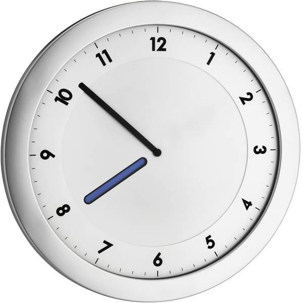Orologi da parete - TFA 60.3027.54 Quarzo Orologio da parete 28 cm x 15 mm x 1.5 cm Argento metallizzato -