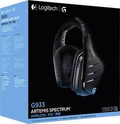 ARTEMIS Logitech G933 SENZA CAVO DI SPETTRO 7.1 surround sound CUFFIE CON  MICROFONO DA GIOCO ff860df7c9c2