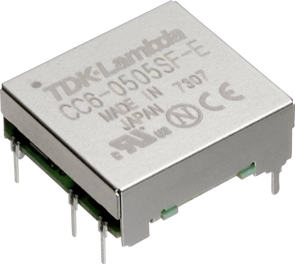 TDK-Lambda CC-6-2405SF-E Convertitore DC/DC da circuito stampato 24 V/DC 5 V/DC 1.2 A 6 W Num. uscite: 1 x