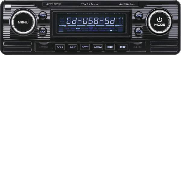 Autoradio e Monitor multimediali - Caliber Audio Technology RCD-120B Autoradio Design retrò -