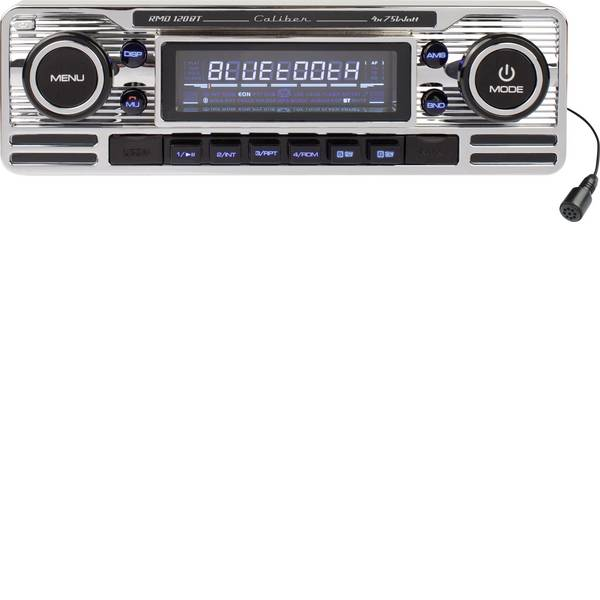 Autoradio e Monitor multimediali - Caliber Audio Technology RMD-120BT Autoradio Design retrò, Vivavoce Bluetooth® -