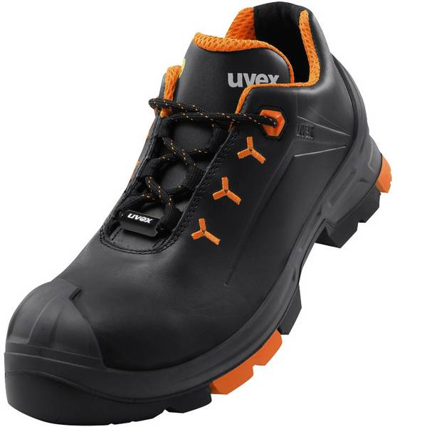Scarpe antinfortunistiche - Scarpe di sicurezza S3 Misura: 40 Nero, Arancione Uvex 2 6502240 1 Paia -