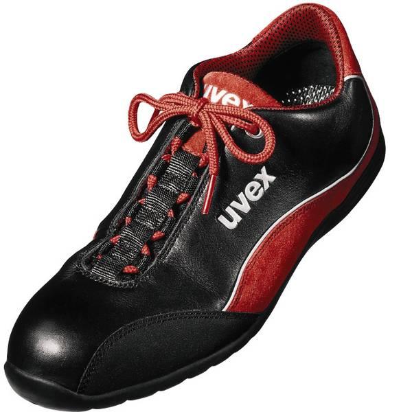 Scarpe antinfortunistiche - Scarpe di sicurezza S1 Misura: 41 Nero, Rosso Uvex motorsport 9494941 1 Paia -