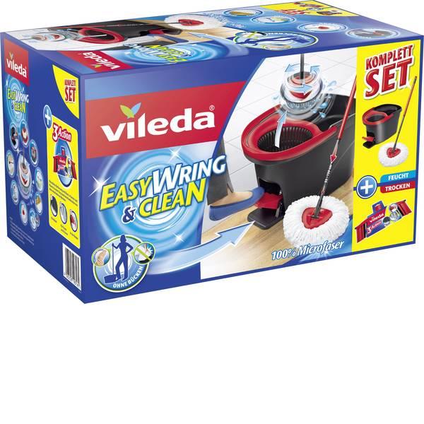 Pulizia dei pavimenti e accessori - Mocio Vileda Easy Wring & Clean kit completo con scopa 3 Action -