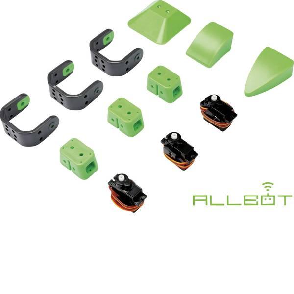 Robot in kit di montaggio - Velleman Robot in kit da montare ALLBOT®-Option Bein mit 3 Servos VR013 Modello (kit/modulo): KIT da costruire,  -