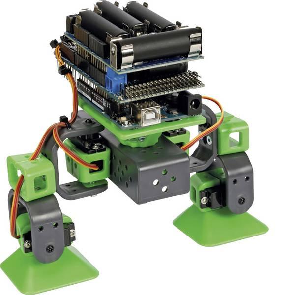 Robot in kit di montaggio - Velleman Robot in kit da montare ALLBOT® mit zwei Beinen VR204 Modello (kit/modulo): KIT da costruire -