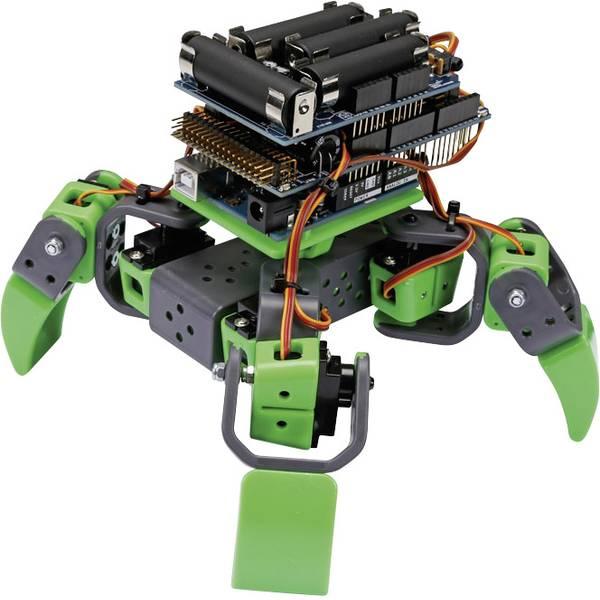 Robot in kit di montaggio - Velleman Robot in kit da montare ALLBOT® met vier benen VR408 Modello (kit/modulo): KIT da costruire -