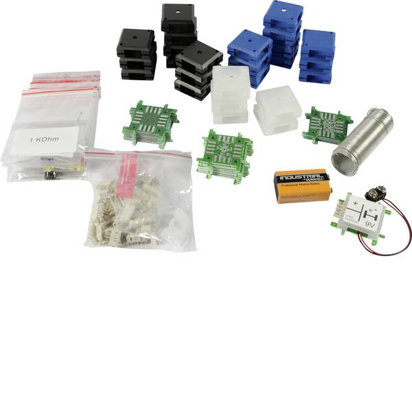 Kit esperimenti e pacchetti di apprendimento - Kit per esperimenti Brick´R´Knowledge DIY Set 124343 -