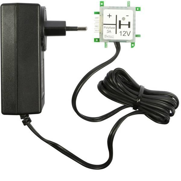 Kit esperimenti e pacchetti di apprendimento - Alimentatore Brick´R´Knowledge 12V Netzteiladapter 123008 -