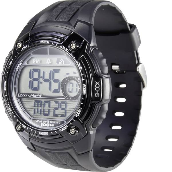 Orologi da polso - Renkforce Quarzo Orologio da polso YP09426A Nero Materiale cassa=Plastica Materiale (braccialetto)=Plastica -