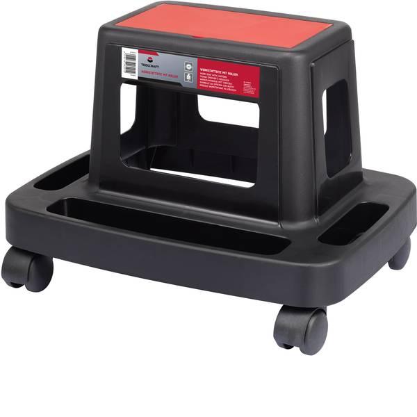 Strumenti speciali per auto - Sgabello da lavoro con rotelle TOOLCRAFT 1414235 -