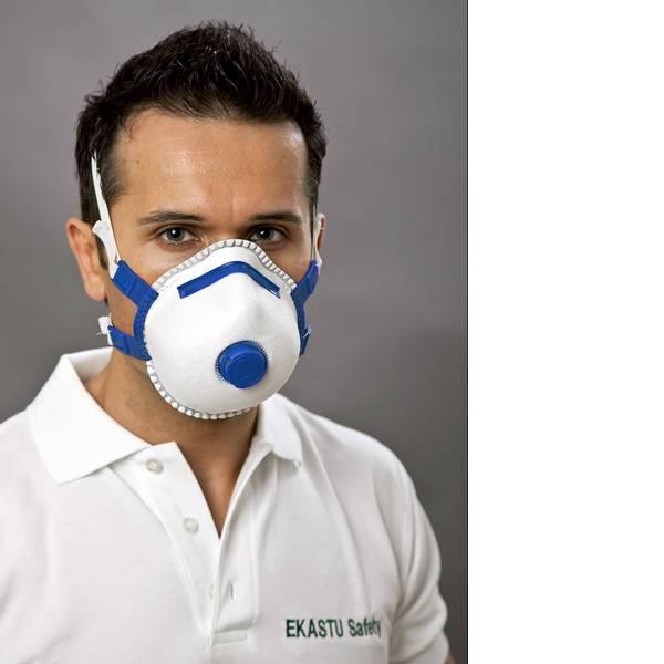 Maschere per polveri fini - Mascherina antipolvere con valvola FFP2 EKASTU Sekur Mandil Soft V 412 084 5 pz. -