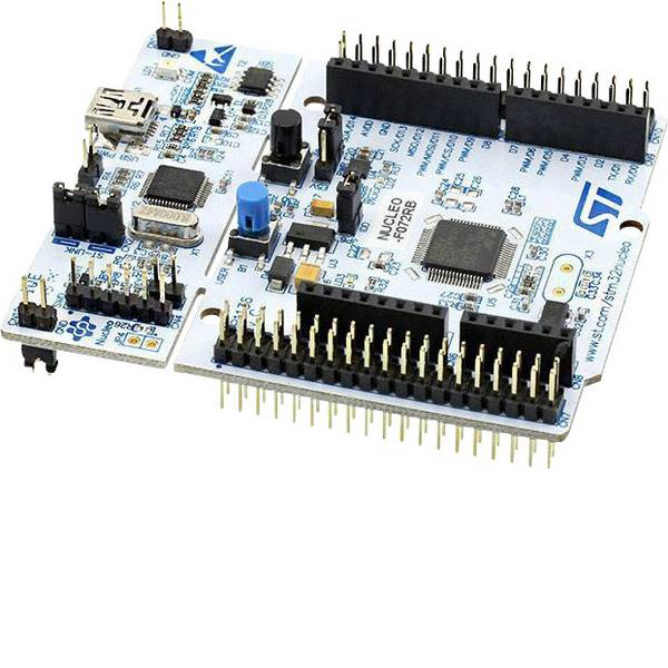 Kit e schede microcontroller MCU - STMicroelectronics Scheda di sviluppo NUCLEO-F072RB STM32 F0 Series -