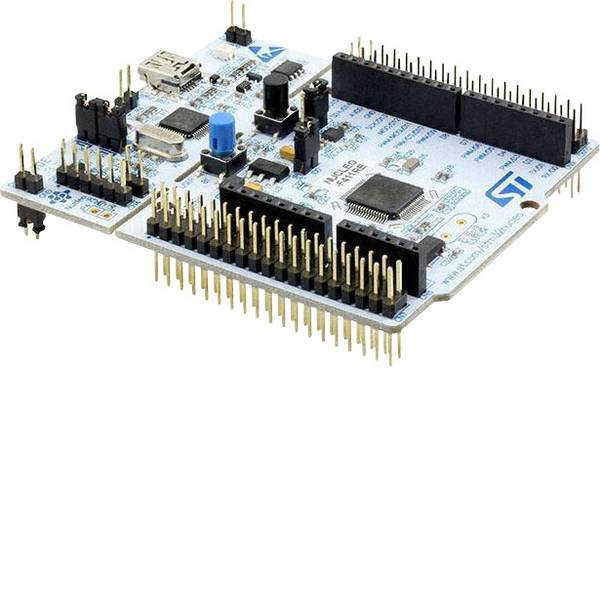 Kit e schede microcontroller MCU - STMicroelectronics Scheda di sviluppo NUCLEO-F411RE STM32 F4 Series -