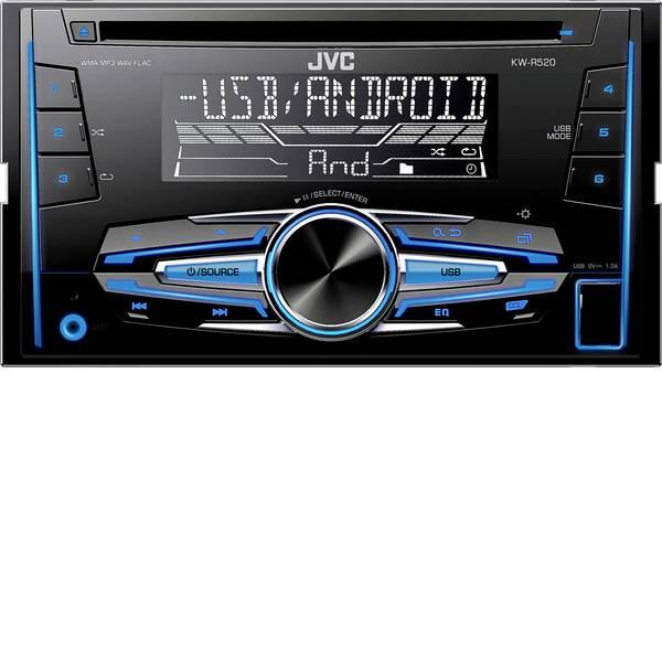 Autoradio e Monitor multimediali - JVC KW-R520E Autoradio doppio DIN Collegamento per controllo remoto da volante -