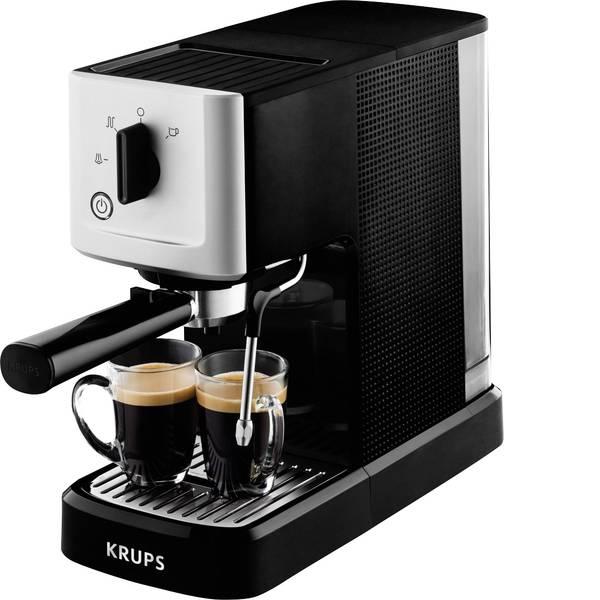 Macchine per caffè espresso - Macchina caffè a filtri Krups Calvi XP3440 Argento, Nero 1460 W Con ugello schiumalatte -