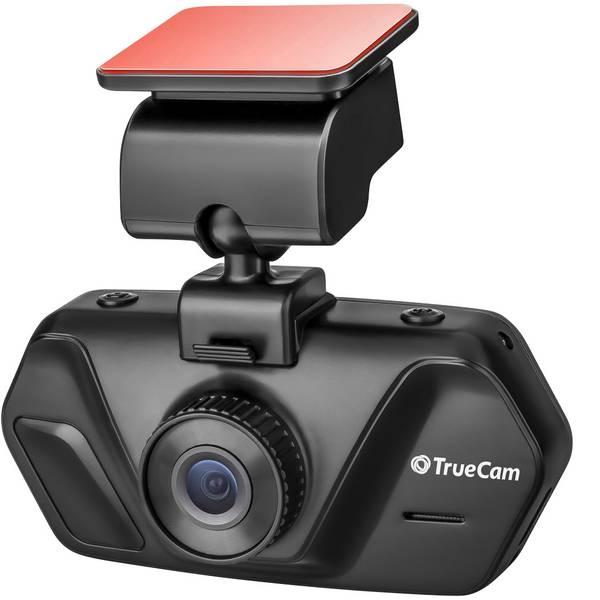 Dashcam - TrueCam A4 Dashcam Max. angolo di visuale orizzontale=130 ° 12 V, 24 V Display, Batteria ricaricabile, Microfono -
