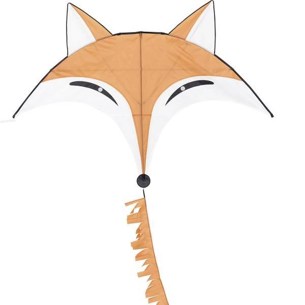 Aquiloni - Aquilone statico Monofilo HQ Fox Kite Larghezza estensione 1450 mm Intensità forza del vento 2 - 4 bft -