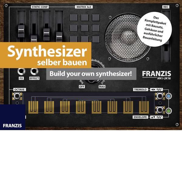 Kit esperimenti e pacchetti di apprendimento - Sintetizzatore in kit da costruire Franzis Verlag Synthesizer selber bauen 65341 da 14 anni -