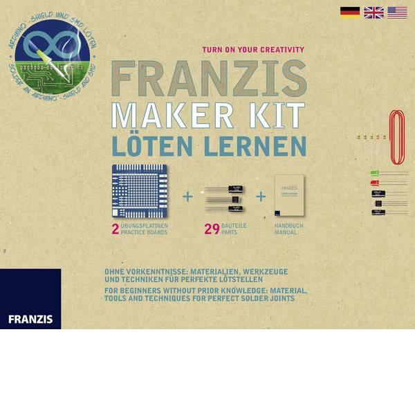 Kit esperimenti e pacchetti di apprendimento - Pacchetto di apprendimento Franzis Verlag Maker Kit Löten Lernen 65318 da 14 anni -