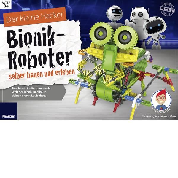 Kit esperimenti e pacchetti di apprendimento - Scatola per esperimenti Franzis Verlag Bionik-Roboter selber bauen und erleben 65326 -