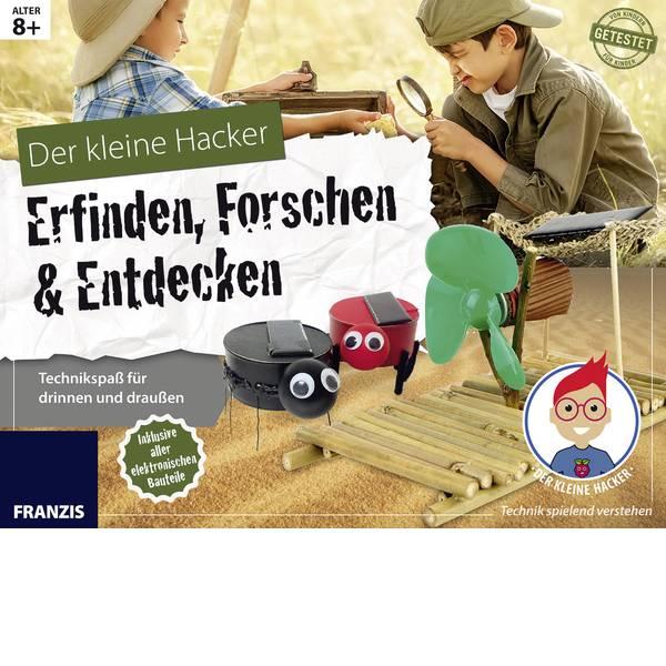 Kit di apprendimento fisica - Kit per esperimenti Franzis Verlag Der kleine Hacker: Erfinden, Forschen und Entdecken 65336 da 8 anni -