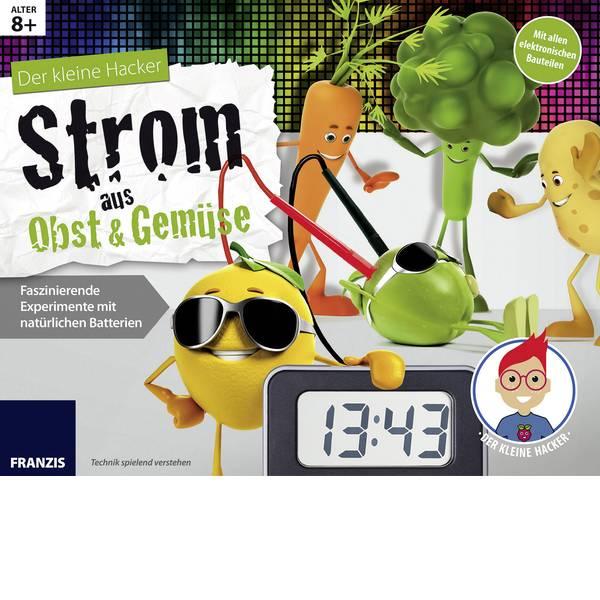 Kit esperimenti e pacchetti di apprendimento - Scatola per esperimenti Franzis Verlag Der kleine Hacker: Strom aus Obst & Gemüse 65252 -