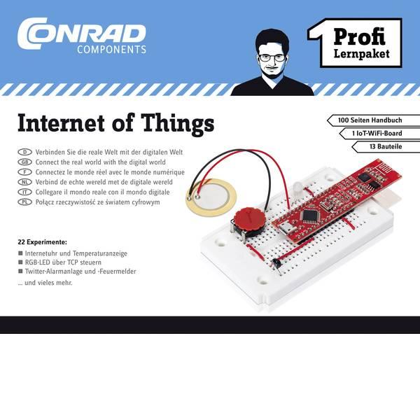 Kit esperimenti e pacchetti di apprendimento - Pacchetto di apprendimento Conrad Components Profi Lernpaket Internet of Things 10215 da 14 anni -
