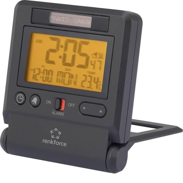 Sveglie - Renkforce C8412 Radiocontrollato Sveglia Antracite Tempi di allarme 1 -