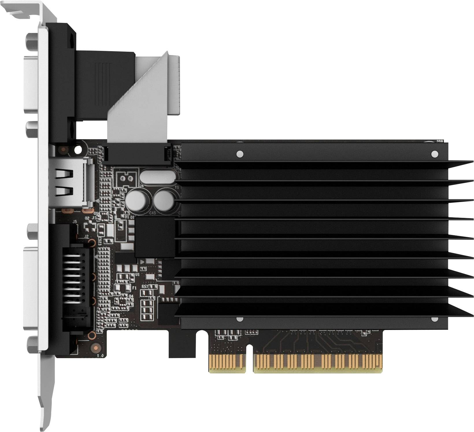 Nero Gainward VGA GT710 Scheda Grafica da 2GB